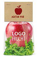 LogoFrucht Apfel als Werbeartikel