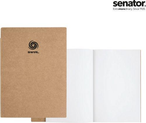 Senator Notizbuch Papier, klein als Werbeartikel