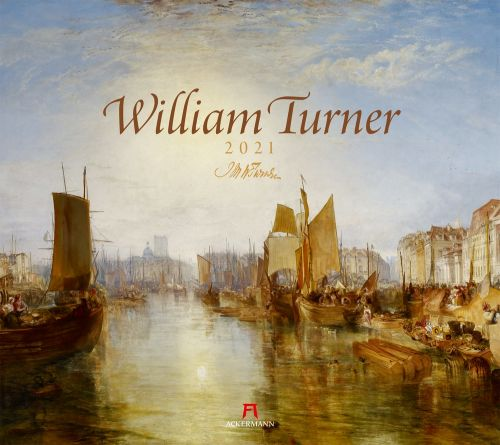 Kalender William Turner 2021 als Werbeartikel