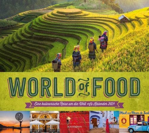 Kalender World of Food 2021 als Werbeartikel