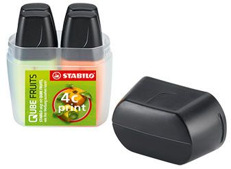 Stabilo Boss Mini 4er Box als Werbeartikel
