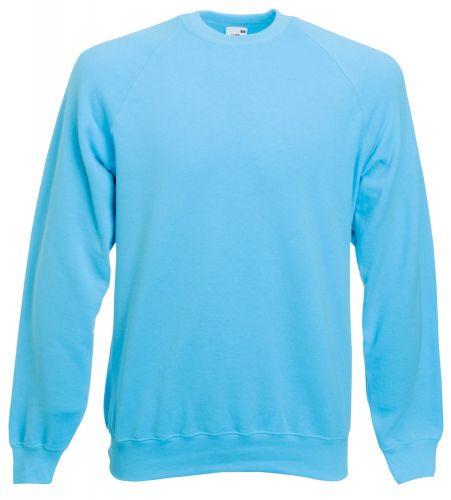 Raglan-Sweater Fruit of the Loom als Werbeartikel