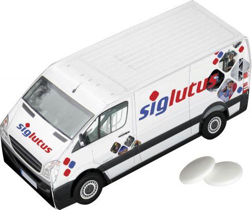Lieferwagen Imperiale-Pfefferminz als Werbeartikel