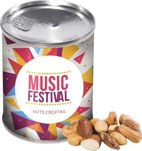 Dose Cocktail Nüsse als Werbeartikel