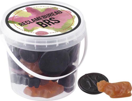 Mini Eimer Fruchtgummis als Werbeartikel