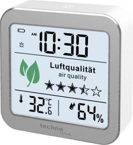 WL 1020 technoline Luftgüte-Monitor zur Überwachung der Raumluftqualität als Werbeartikel
