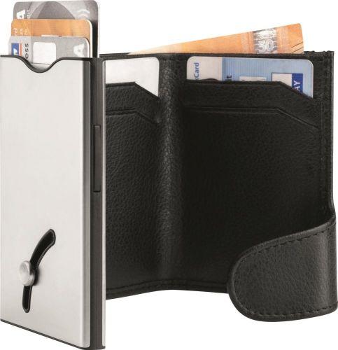 Kartensafe I Wallet de Luxe Pro mit RV BlackMaxx® als Werbeartikel