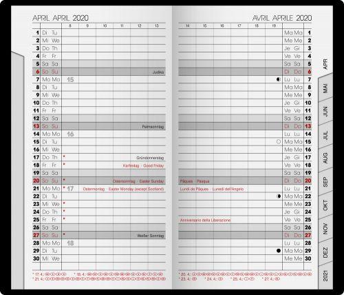 Sichtkalender Modell 751 SOFT als Werbeartikel