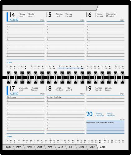 Sichtkalender Wire-O Modell 755 Wiking als Werbeartikel