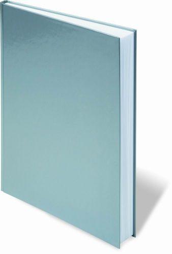 Notizbuch Style A4 Silber als Werbeartikel