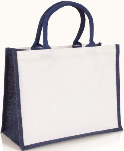 Kleine Tasche aus Jute und Juco als Werbeartikel