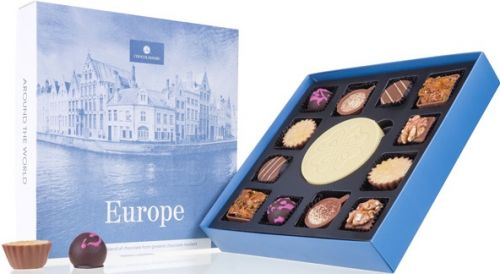 Pralinen Around The World Europe als Werbeartikel als Werbeartikel