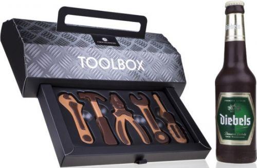 Schokolade Set Toolbox und Bier als Werbeartikel als Werbeartikel