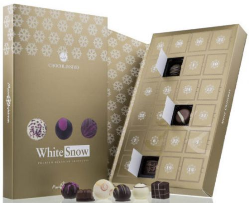 Adventskalender White Snow als Werbeartikel