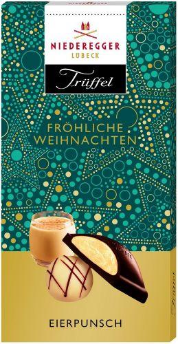 Eierpunsch-Trüffel Weihnachtsschokolade als Werbeartikel