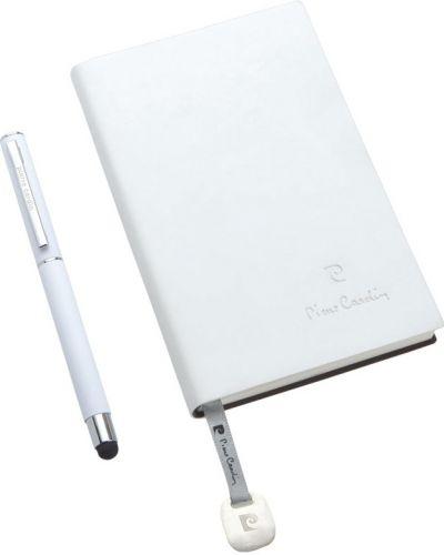 Schreibset Arlas Pierre Cardin® mit Notizbuch A6 als Werbeartikel