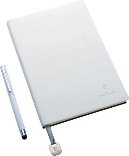 Schreibset Capucine Pierre Cardin mit Notizbuch A5 als Werbeartikel
