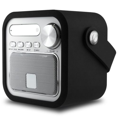 Retro Bluetooth-Speaker mit Radio als Werbeartikel