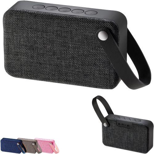 Bluetooth Lautsprecher Textil als Werbeartikel