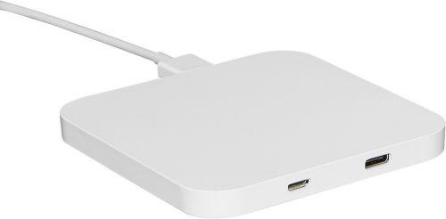 Wireless charger 10W mit HUB als Werbeartikel