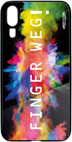 Smartphonecover Reflects-TG HWP20 Finger als Werbeartikel