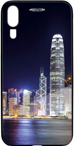 Smartphonecover Reflects-TG HWP20 Skyline als Werbeartikel