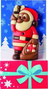 Schoko-Weihnachtsmann als Werbeartikel