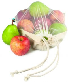 Wiederverwendbare Food Bag Adam Fairtrade als Werbeartikel