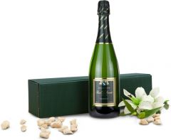 Champagner Pascal Lallement brut als Werbeartikel