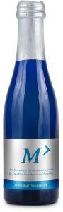 Promo Secco Piccolo Flasche blau als Werbeartikel
