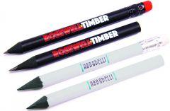 Bleistift ohne Radiergummi als Werbeartikel