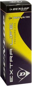 Dunlop Extra Life Pressureless Tennisball als Werbeartikel