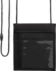Umhänge-Brieftasche als Werbeartikel