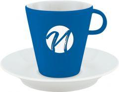 NARA Cappuccinotasse EU als Werbeartikel