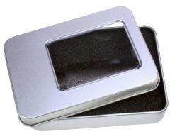 Metallbox für USB-Sticks USB 2.0 als Werbeartikel