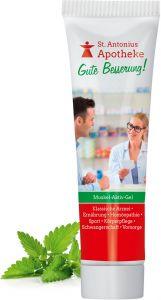 Muskel-Aktiv-Gel, 20 ml als Werbeartikel