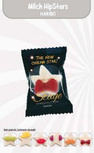 Haribo Milch HipSTARS Werbetüte 1 Stück als Werbeartikel