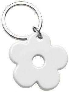 Keyfobs Porzellan Schlüsselanhänger Blume als Werbeartikel