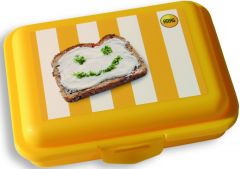 Snack Box Piccolino mit IMLabel als Werbeartikel