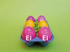LogoEi 6er Box als Werbeartikel
