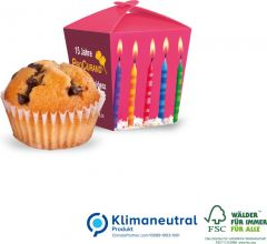 """Muffin """"Mini"""" in Promotion-Verpackung """"Style"""" als Werbeartikel"""