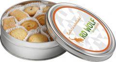 Dose Kekse als Werbeartikel