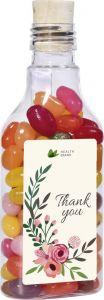 Message in a bottle Jelly Beans als Werbeartikel
