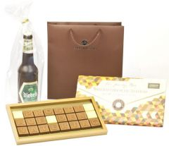 Schokoladen Geschenkset Vatertag als Werbeartikel