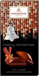 Zimt-Nougat Weihnachtsschokolade als Werbeartikel