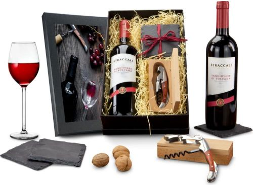 Präsentset Wein-Freu(n)de als Werbeartikel