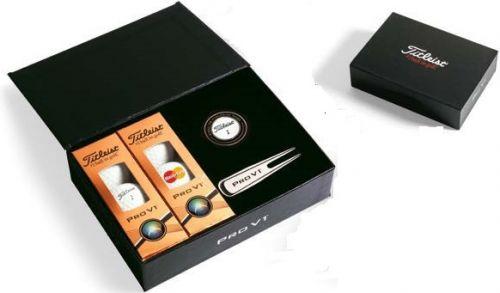 Titleist ProV1 Golfbälle Geschenkbox als Werbeartikel
