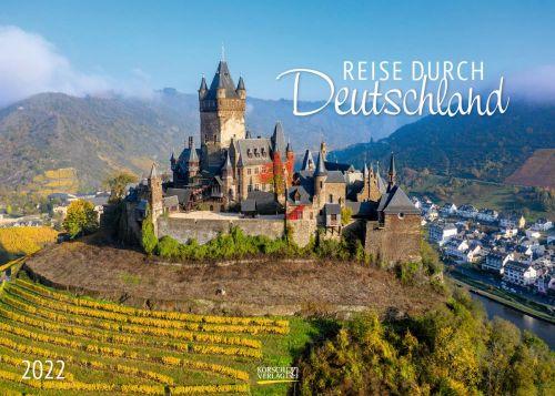 Fotokalender Reise durch Deutschland als Werbeartikel