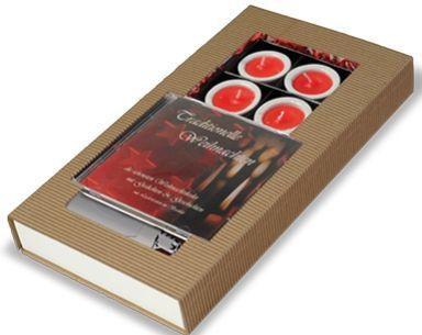 Geschenkset Weihnachtslichterglanz Traditionell 5-tlg. als Werbeartikel