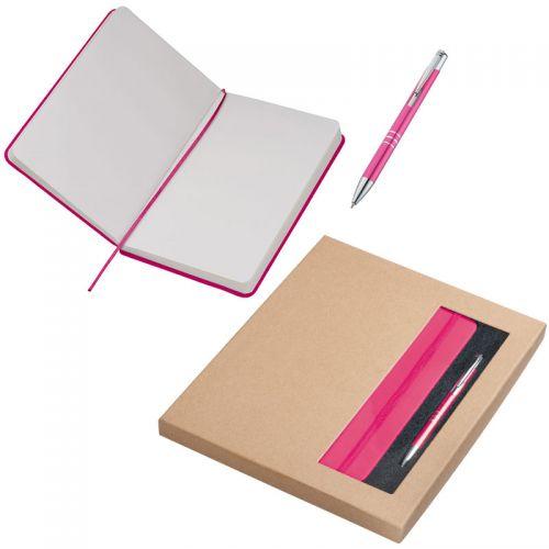 Set A5 Notizbuch & Kugelschreiber Norderstedt als Werbeartikel